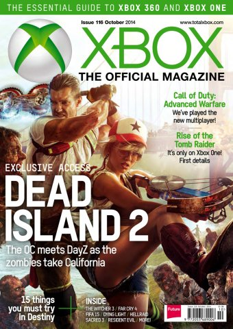 XBOX The Official Magazine Issue 116 October 2014