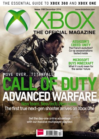 XBOX The Official Magazine Issue 118 December 2014
