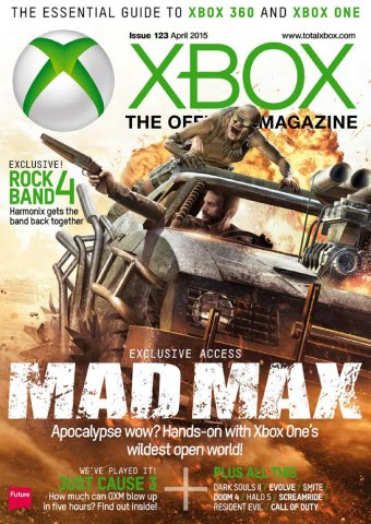XBOX The Official Magazine Issue 123 April 2015