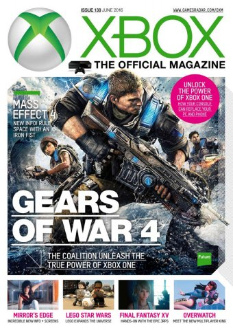 XBOX The Official Magazine Issue 138 June 2016