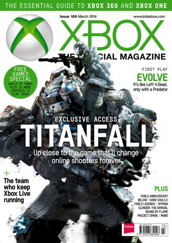 XBOX The Official Magazine Issue 109 March 2014