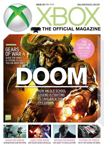 XBOX The Official Magazine Issue 137 May 2016