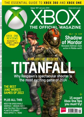 XBOX The Official Magazine Issue 107 January 2014