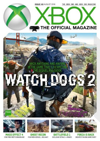 XBOX The Official Magazine Issue 140 August 2016