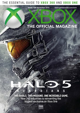 XBOX The Official Magazine Issue 130 November 2015