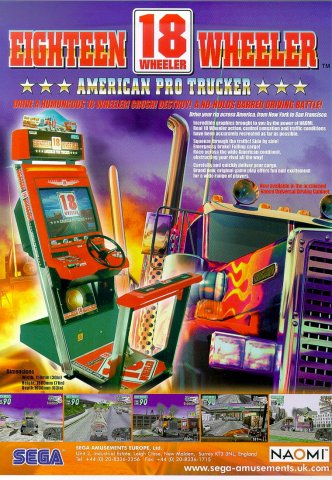 18 Wheeler: American Pro Trucker (2000) (UK)