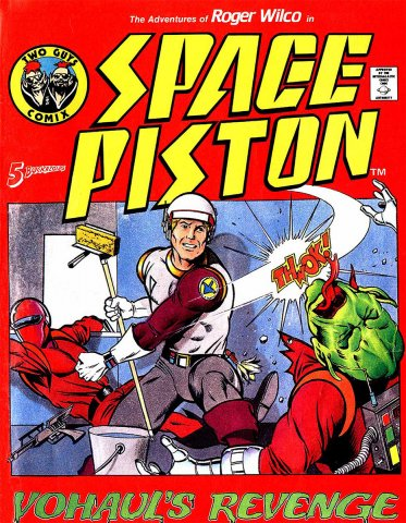 The Adventures Of Roger Wilco in: Space Piston (1987)