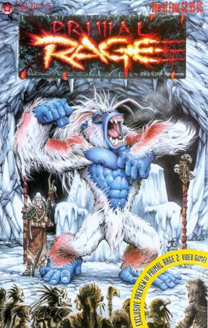 Primal Rage Issue 01 (August 1996)
