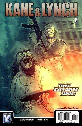 Kane & Lynch Issue 001 (October 2010)