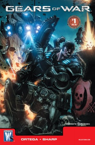 Gears of War Issue 001 (cover b) (December 2008)