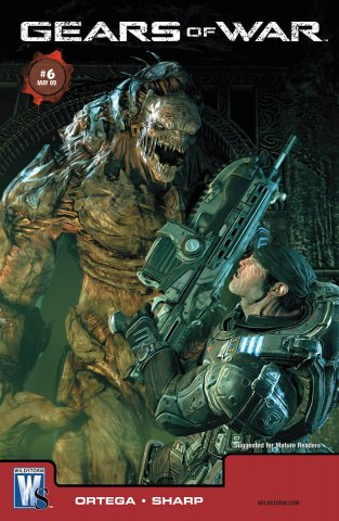 Gears of War Issue 006 (cover b) (May 2009)