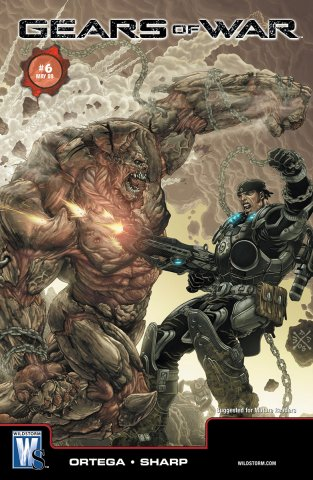 Gears of War Issue 006 (cover a) (May 2009)