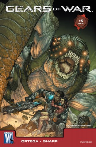 Gears of War Issue 005 (cover a) (April 2009)