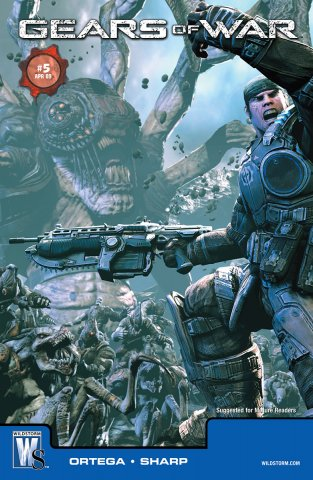 Gears of War Issue 005 (cover b) (April 2009)