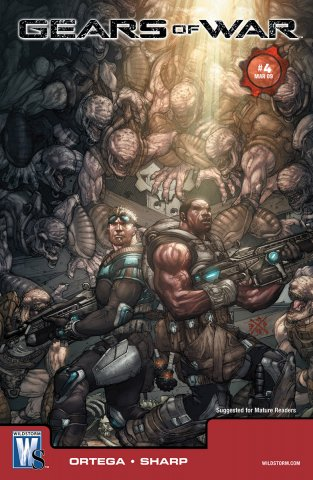 Gears of War Issue 004 (cover a) (March 2009)