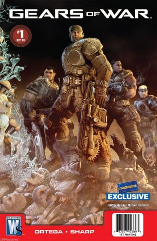 Gears of War Issue 001 (Blockbuster variant) (December 2008)