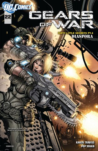 Gears of War Issue 022 (April 2012)