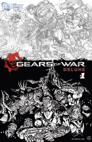 Gears of War Issue 001 (deluxe variant) (December 2008)