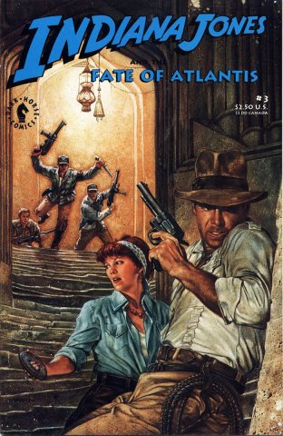 Indiana Jones and the Fate of Atlantis Issue 003 (July 1991)