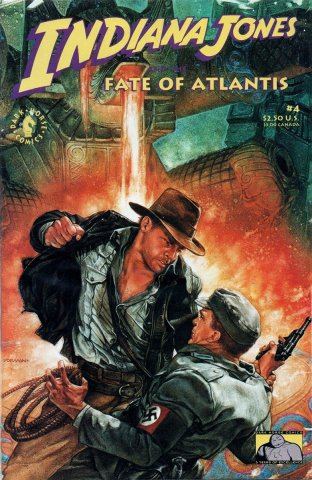 Indiana Jones and the Fate of Atlantis Issue 004 (September 1991)