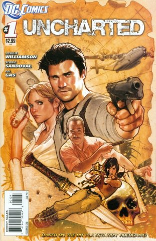 Uncharted Issue 001 (cover b) (January 2012)
