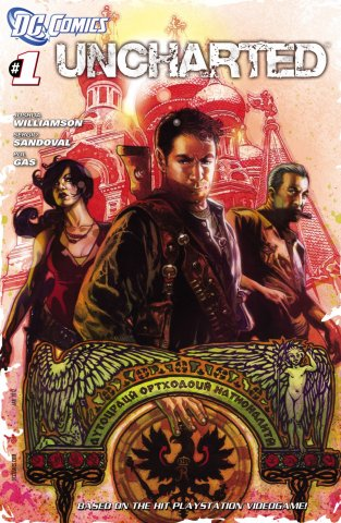 Uncharted Issue 001 (cover a) (January 2012)