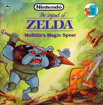 Legend Of Zelda, The: Moblin's Magic Spear (1989)