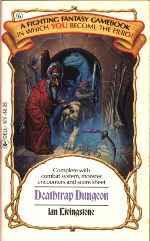 Deathtrap Dungeon (US edition) (September 1984)