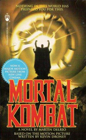 Mortal Kombat: The Movie novelization (August 1995)