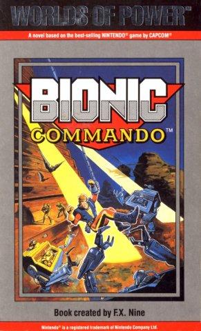 Bionic Commando (UK cover) (January 1991)