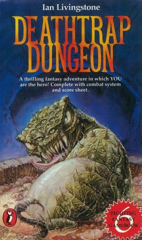 Deathtrap Dungeon (UK edition) (March 1984)