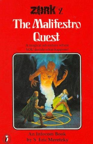 Zork 2: The Malifestro Quest (UK cover) (September 1983)