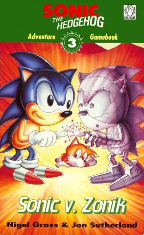Sonic The Hedgehog: Adventure Gamebook 3 - Sonic V. Zonik (1994)