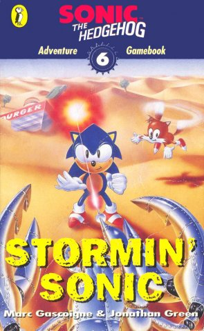 Sonic The Hedgehog: Adventure Gamebook 6 - Stormin' Sonic (1996)