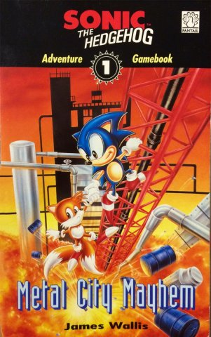 Sonic The Hedgehog: Adventure Gamebook 1 - Metal City Mayhem (1993)
