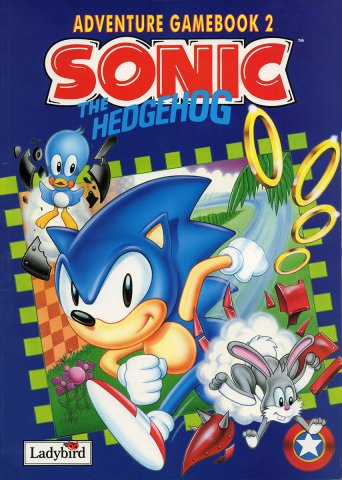 Sonic The Hedgehog (Ladybird) Adventure Gamebook 2 (1994)