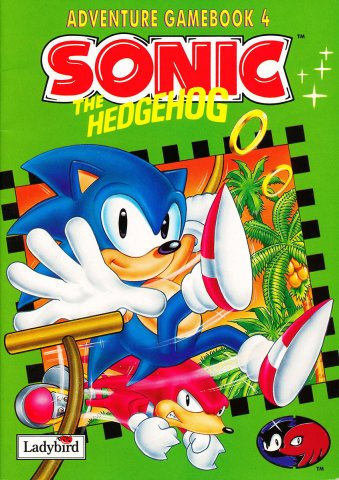 Sonic The Hedgehog (Ladybird) Adventure Gamebook 4 (1995)