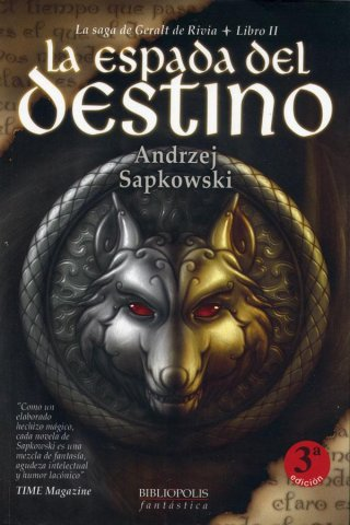 The Witcher: Sword Of Destiny (Spanish 2003 edition)