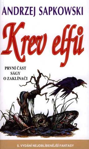 The Witcher: Blood Of Elves (Czech 1998 edition)