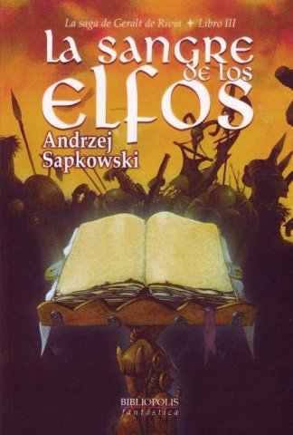 The Witcher: Blood Of Elves (Spanish 2003 edition)