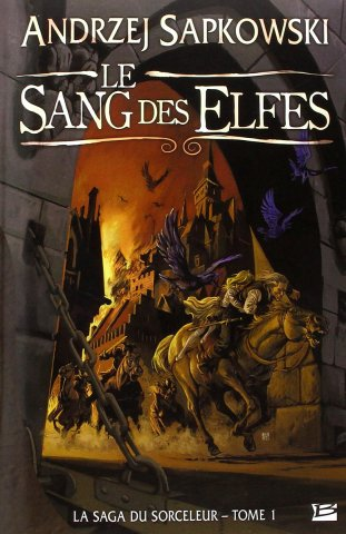 The Witcher: Blood Of Elves (French 2008 edition)