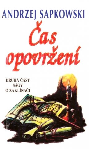The Witcher: The Time Of Contempt (Czech 1998 edition)