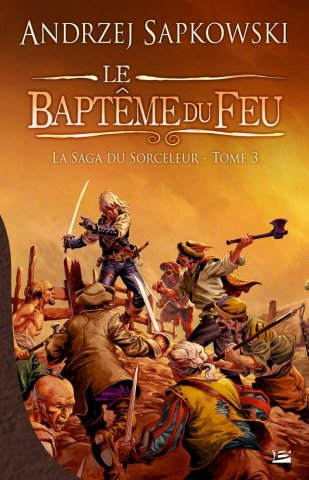The Witcher: Baptism Of Fire (French 2010 edition)
