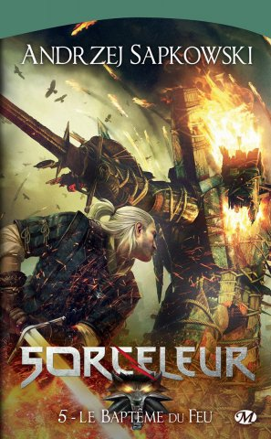 The Witcher: Baptism Of Fire (French 2012 edition)