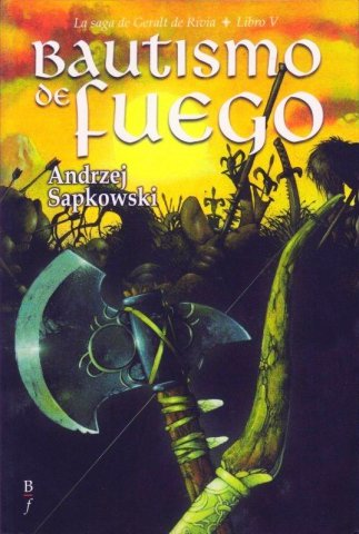 The Witcher: Baptism Of Fire (Spanish 2008 edition)