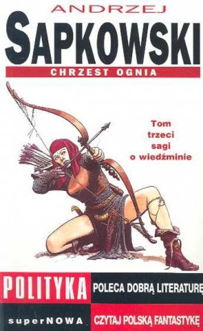 The Witcher: Baptism Of Fire (Polish 1996 edition)