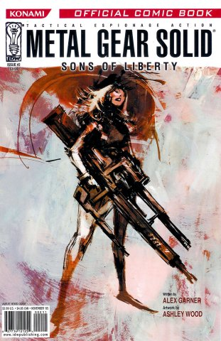 Metal Gear Solid: Sons Of Liberty Issue 02 (cover a) (November 2005)
