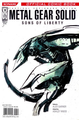 Metal Gear Solid: Sons Of Liberty Issue 06 (cover a) (May 2006)