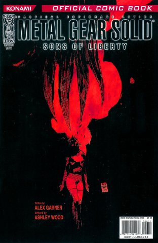 Metal Gear Solid: Sons Of Liberty Issue 08 (cover b) (September 2006)