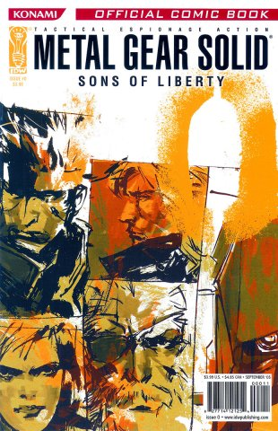 Metal Gear Solid: Sons Of Liberty Issue 00 (September 2005)
